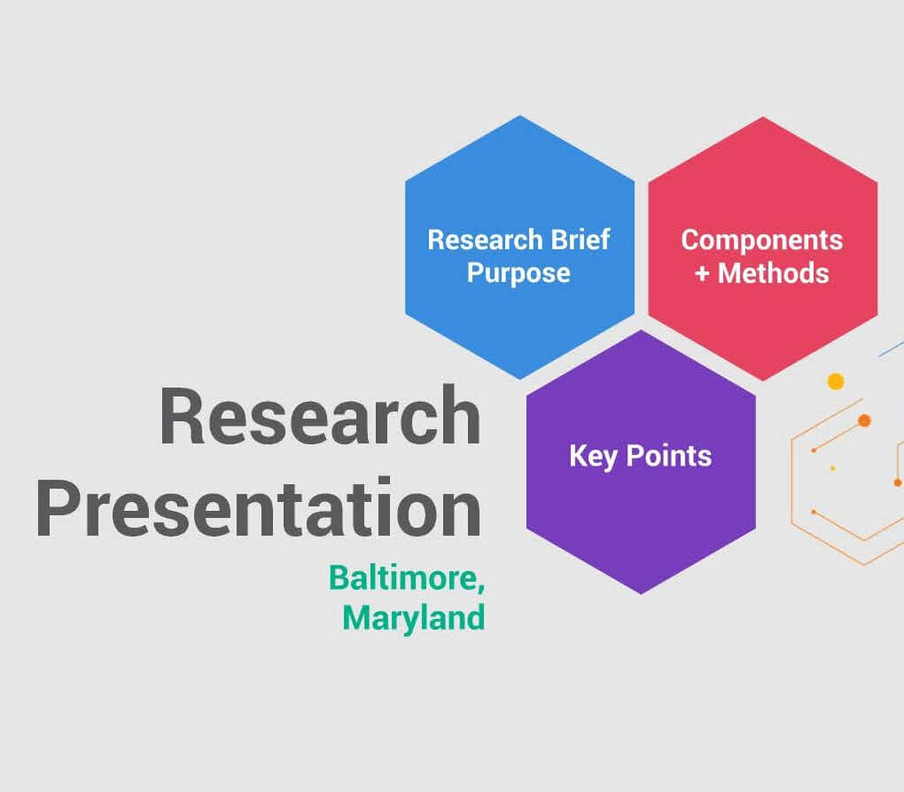 Research Presentation Logo