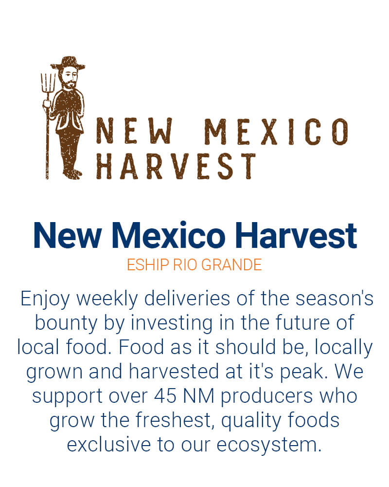 New Mexico harvest