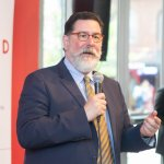 Mayor Bill Peduto kicks off the conference during the opening session